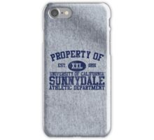 UC Sunnydale Athletic Department iPhone Case/Skin