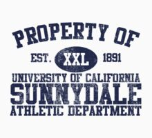 UC Sunnydale Athletic Department One Piece - Long Sleeve