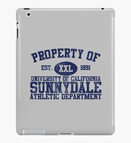 UC Sunnydale Athletic Department iPad Case/Skin