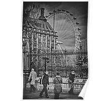 London Street Eye Poster