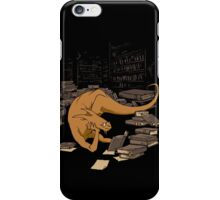 The Book Wyrm iPhone Case/Skin