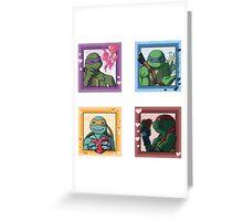 TMNT Valentine Greeting Card