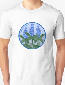 Watercolor Blue Bonnet T-Shirt