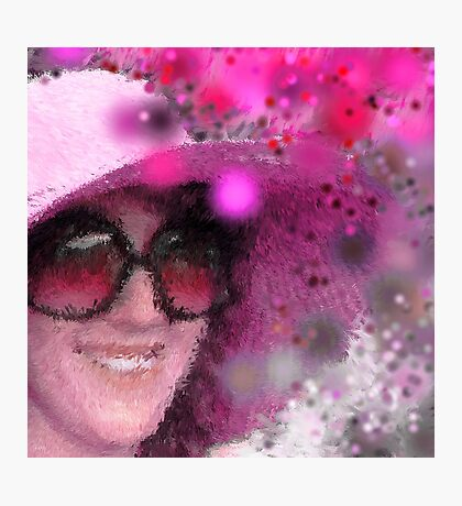 In the Pink Photographic Print