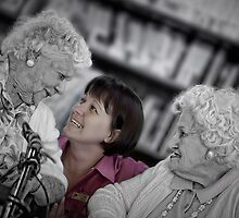 The aged care worker by Margaret Metcalfe