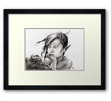 Cat the Bush Doctor Framed Print