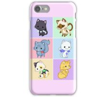 Cute Kittens with Wings! iPhone Case/Skin