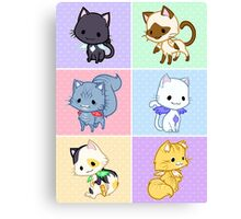 Cute Kittens with Wings! Canvas Print