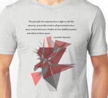 Lysander Spooner -  Masters or Slaves Unisex T-Shirt