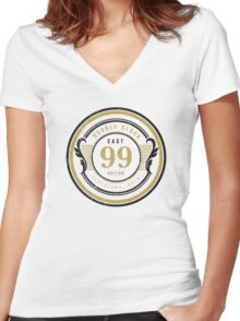 East 1999 Cleveland Bone Thugs Women's Fitted V-Neck T-Shirt