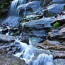 Bridal Veil Falls, Blue Mountains, NSW by Martyn Baker | Martyn Baker Photography