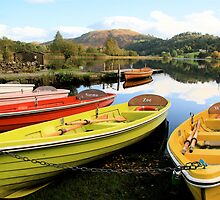 Bright Boats - Grasmere, Lake District by rejones
