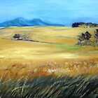 Waving Wheatfield by Marie Theron