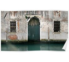 Abandoned Waterside Residence - Venice Poster
