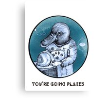 Platynaut - You're Going Places Canvas Print