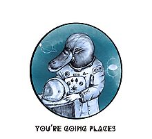 Platynaut - You're Going Places Photographic Print