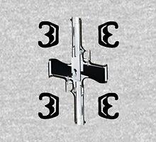 Black Letter Emblem Unisex T-Shirt