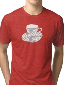 cup of tea (just drunk) Tri-blend T-Shirt