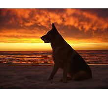 Jef's sunset Photographic Print