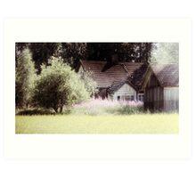 12.7.2010: Forgotten Summer Art Print
