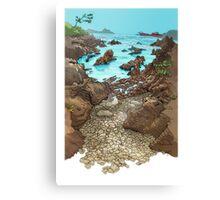Cala  en Monteferro Canvas Print