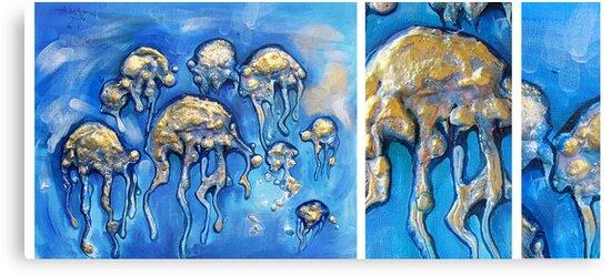 jellyfisheeeeees by cristina