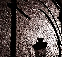 Bruges Lamplight Shadow by ragman