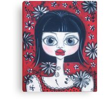 China Doll Dannii Canvas Print