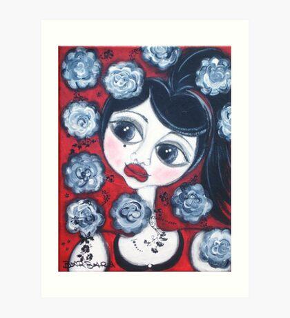 China Doll Demmii Art Print