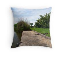 Dutch Ditch Throw Pillow