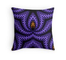 Purple Swagger Throw Pillow