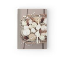 Eggs and feathers Hardcover Journal
