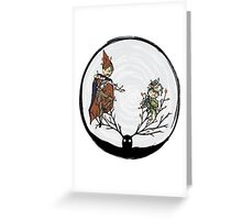 Ensnared Greeting Card