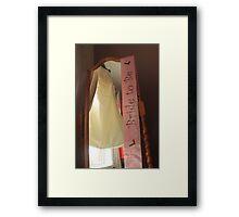 Bride to be... Framed Print