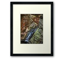 The Water Chute Framed Print