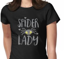 Spider Lady Womens Fitted T-Shirt
