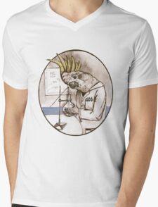 Proffatoo Mens V-Neck T-Shirt