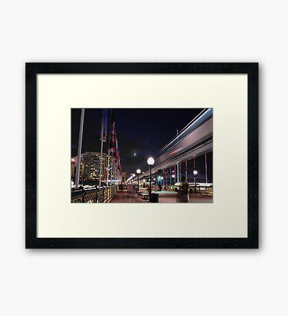 Slice of City Life Framed Print