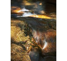 Water + Rock Photographic Print