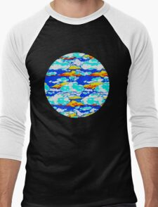 Cloudloft Men's Baseball ¾ T-Shirt