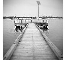 Pinhole jetty Photographic Print
