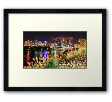 Brisbane City Beauty Framed Print
