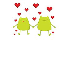 Frogs lovers Photographic Print