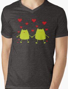 Frogs lovers Mens V-Neck T-Shirt