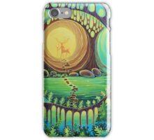Fantasy creatures. Magic wood illustration.  iPhone Case/Skin