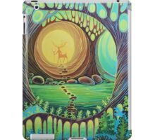 Fantasy creatures. Magic wood illustration.  iPad Case/Skin