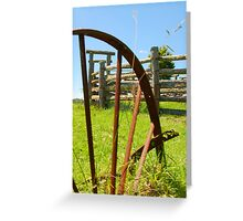 Yards Greeting Card