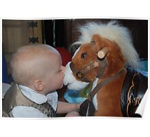 Young horsemanship Poster