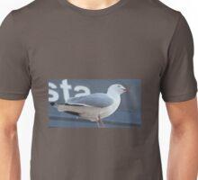 ROOFTOP SEAGULL Unisex T-Shirt