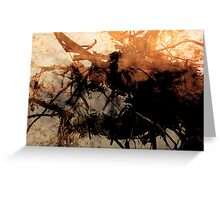when the bough breaks... Greeting Card